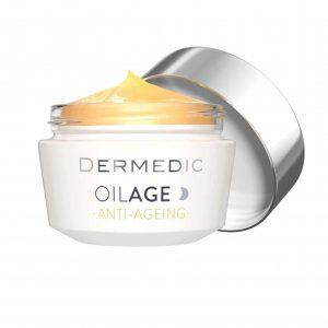dermecic-oilage-anti-aging-éjszakai-krémOilage Bőrsűrűséget helyreállító éjszakai krém