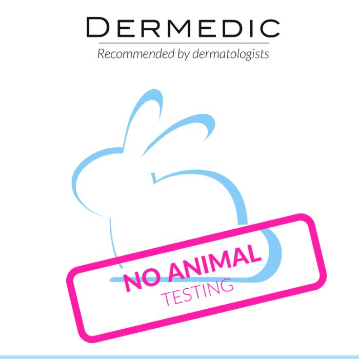 Dermedic - Nem végzünk állatkísérleteket!
