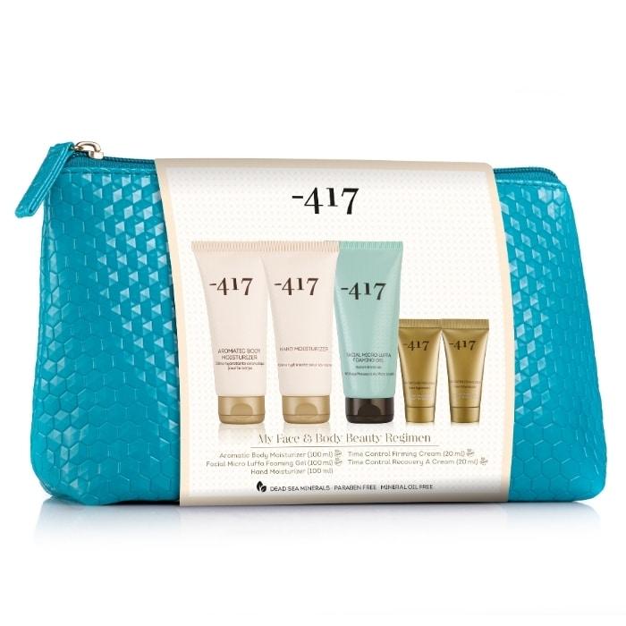 """-417 """"My Face & Beauty"""" arc-és testápoló kozmetikai csomag.."""